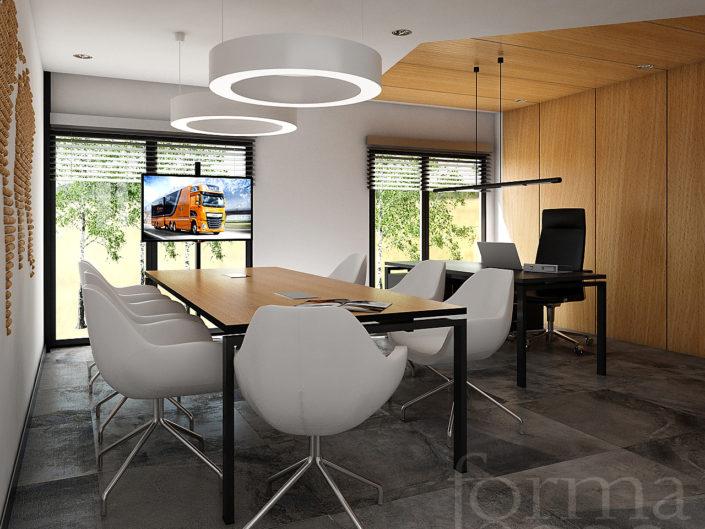 Wizualizacje pomieszczeń biurowych